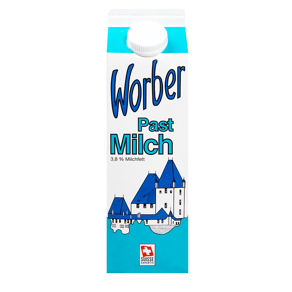 Worber Vollmilch Past