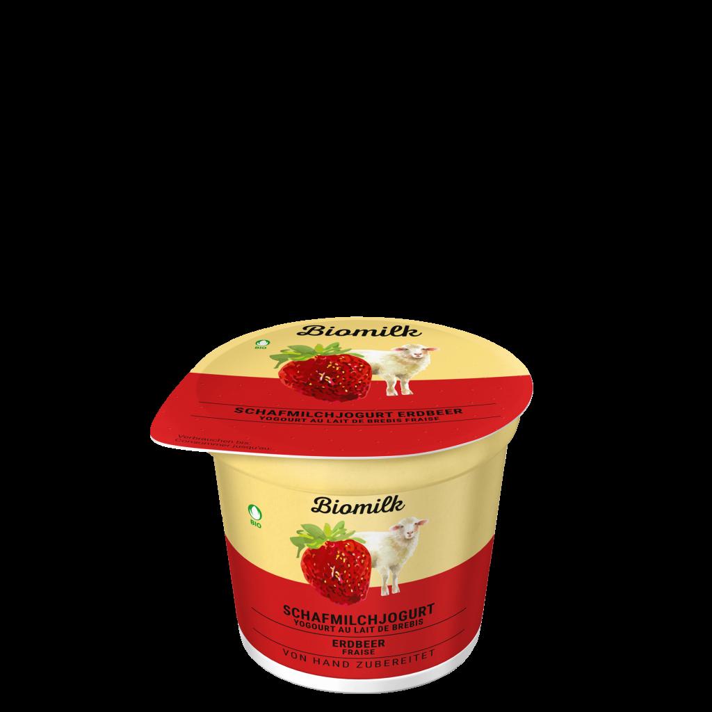 Schafmilch Erdbeer Jogurt