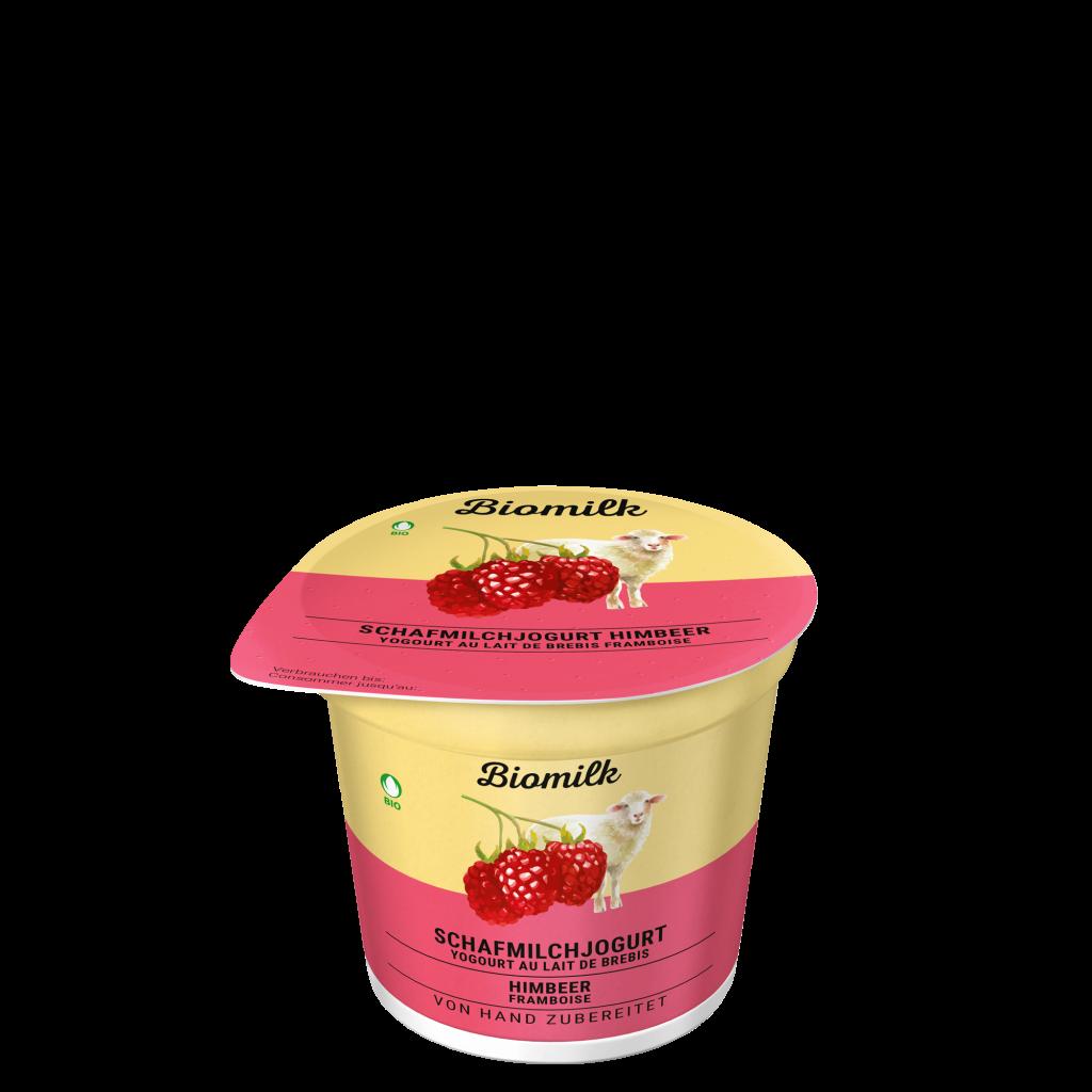 Schafmilch Himbeer Jogurt