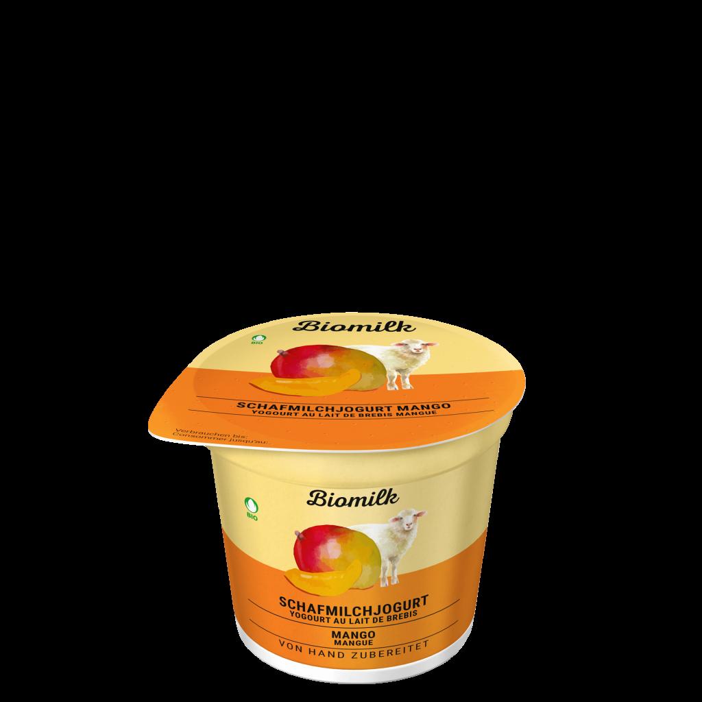 Schafmilch Mango Jogurt