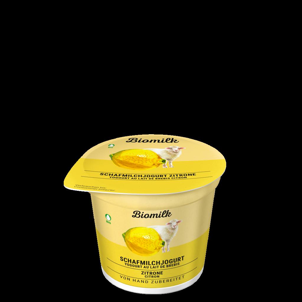 Schafmilch Zitronen Jogurt