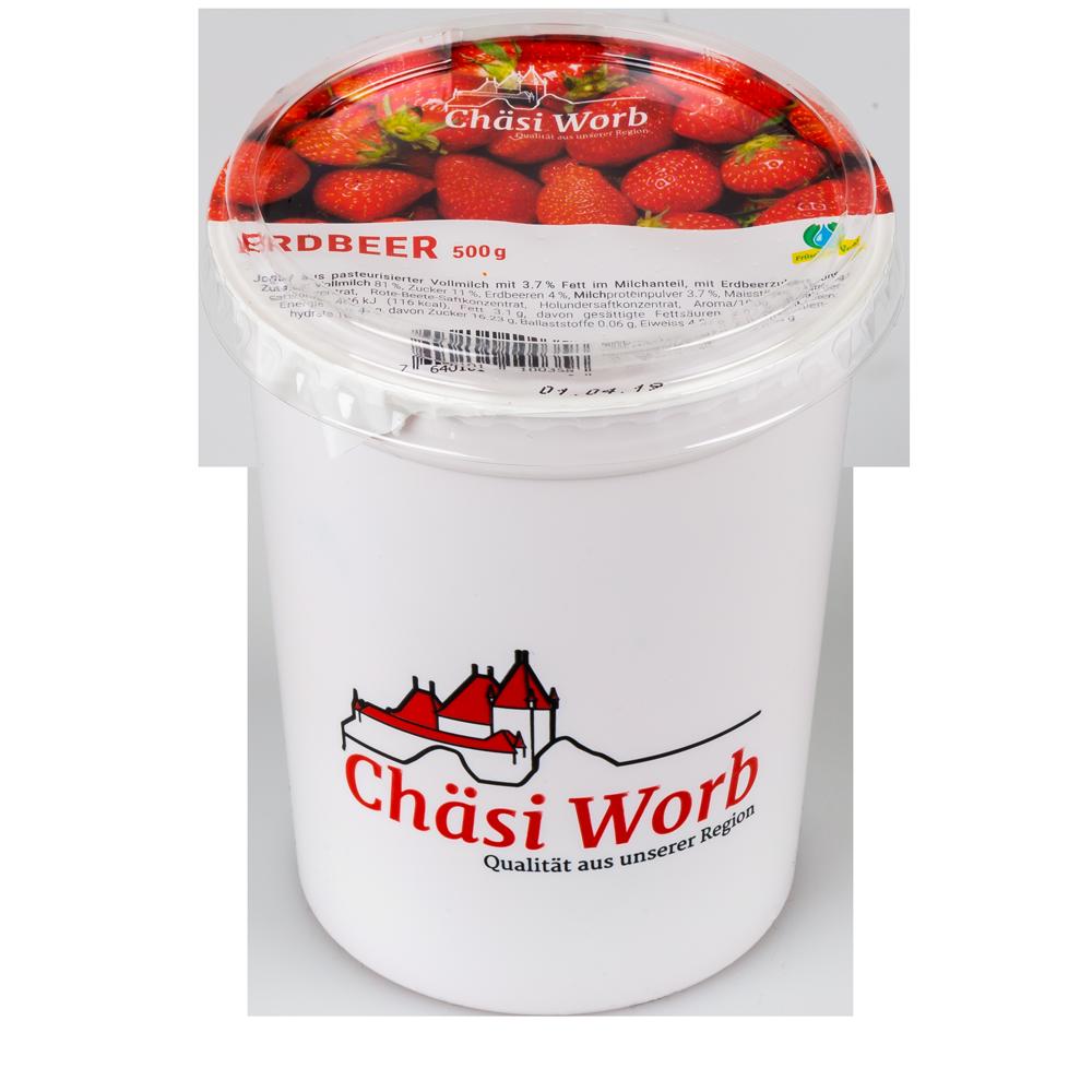 Worber Erdbeer Jogurt