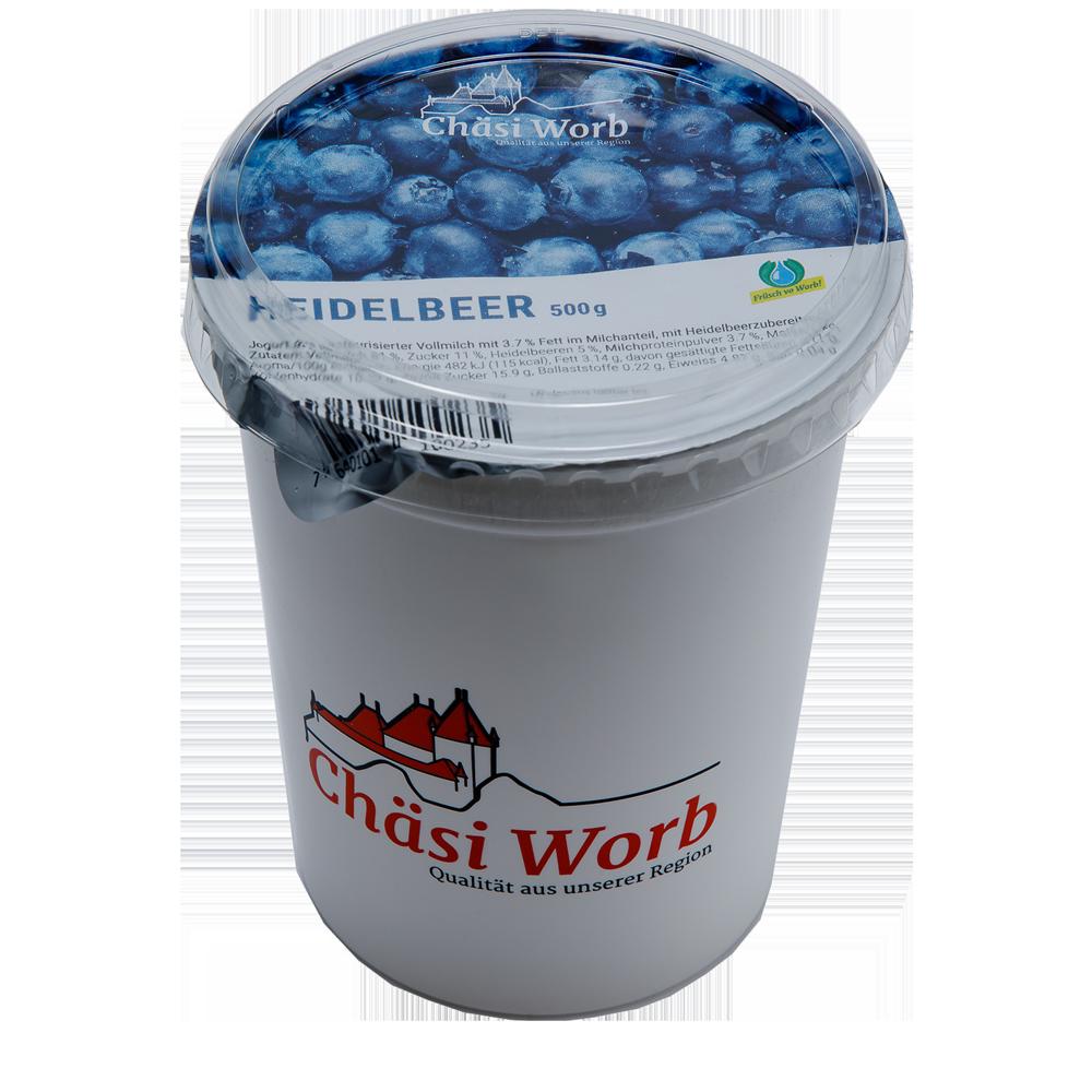 Worber Heidelbeer Jogurt