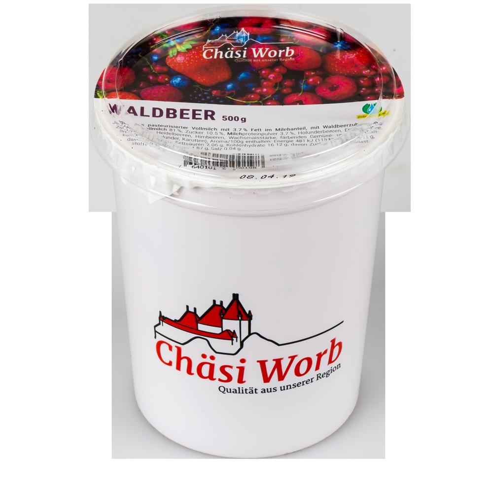 Worber Waldbeer Jogurt